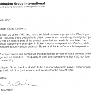 Reference letters ymc heating air washington group international expocarfo Choice Image